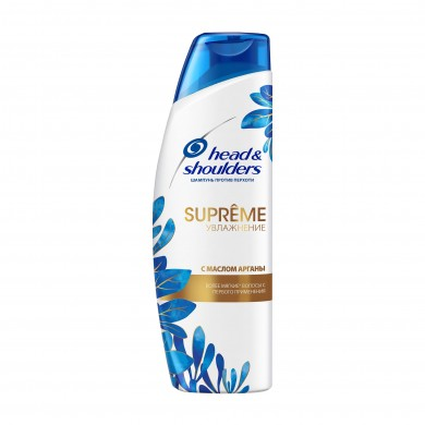 Шампунь H&S проти лупи Supreme Detox+О*єм з аргановою олією 300 мл
