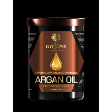 юМаска для волосся з нат.екстр.журавлини та аргановою олією 1000мл DALLAS