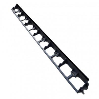 Бордюр городній Н55 мм, L1000 ммм, чорний Bradas OBRB55