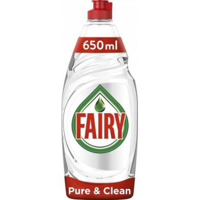Засіб FAIRY для миття посуду Pure&Clean 650 мл