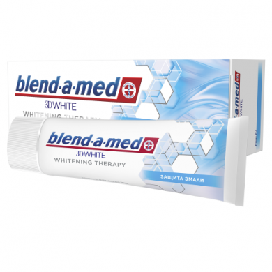 Зуб. паста BLEND-A-MED 3D White Whitening Therapy Захист Емалі  75 мл