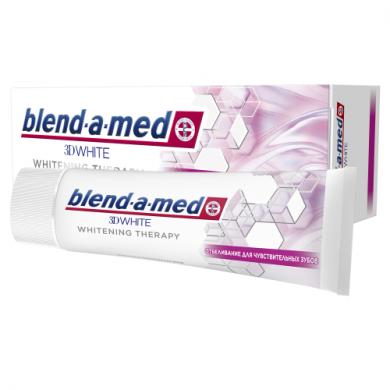 Зуб. паста BLEND-A-MED 3D White Whitening Therapy для чутлив.зубів  75 мл