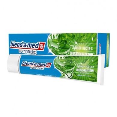 Зуб. паста BLEND-A-MED Комплекс з ополіскувачем Свіжість трав М*ята і чебрець 100мл