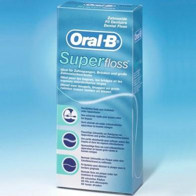 Зуб.нитка ORAL_B SuperFloss 50м