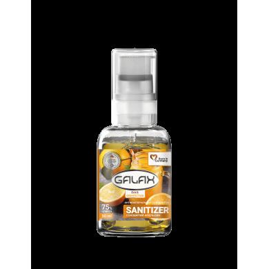 Гель для рук антисептичний 50г GALAX dax Desinfection соковитий апельсин