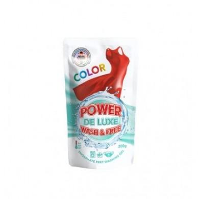 Гель для прання кольорових речей 200г(DOYPACK) PW DE LUXE