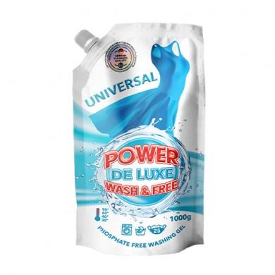 Гель для прання універсальний 1000г (DOYPACK) PW DE LUXE