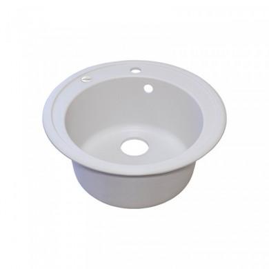 Мийка кухонна Lids керамограніт (Whi-01) D510/200