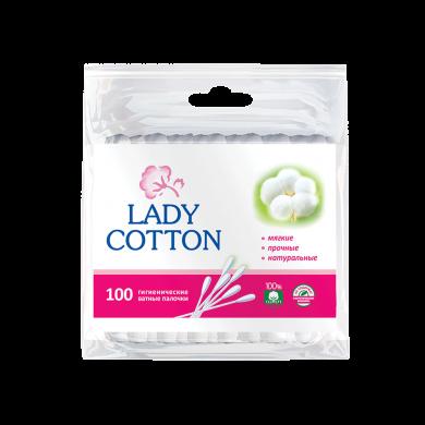 юВата на пал.Lady Cotton поліетилен (100шт)