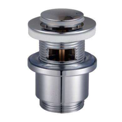 Клапан донний HG-041B- Click-clack Металл Круглий Латунь, Універсальний