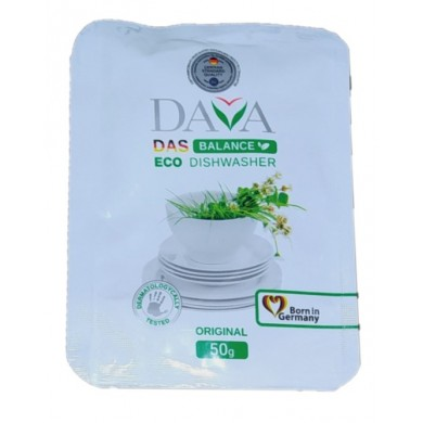 Засіб екологічний для миття посуду 50 г DAVA BALANCE