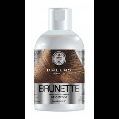 Шампунь зволожувальний для захисту кольору темного волосся, 1000г DALLAS BRILLIANT BRUNETTE