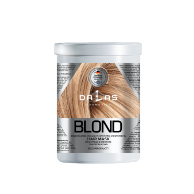 Маска зволожувальна для світлого волосся,1000мл DALLAS BLONDE HIGHLIGHT