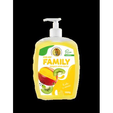 """Х Рідке мило """"Ківі та манго """" 500 г FamilY"""