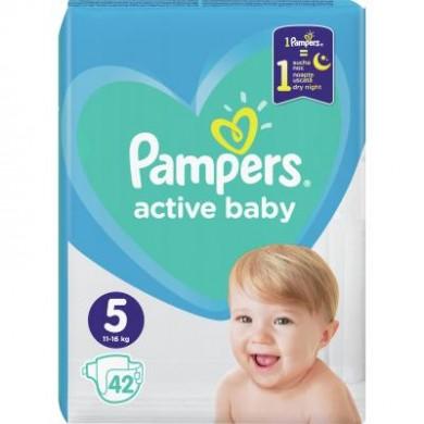 Підгузники дит.PAMPERS Active Baby Junior(11-16кг) економ.уп.42