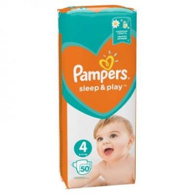Підгузники дит.PAMPERS Sleep & Play Maxi(9-14кг) уп.50