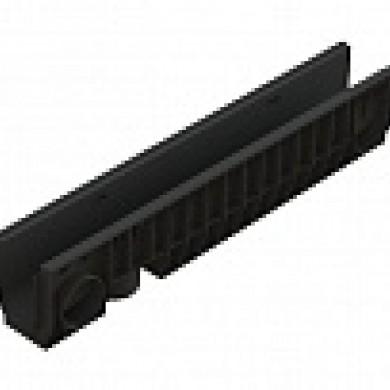 Л Лоток водовідвідний PolyMax Basic ЛВ-10.16.20-ПП пластиковий Standartpark 8040