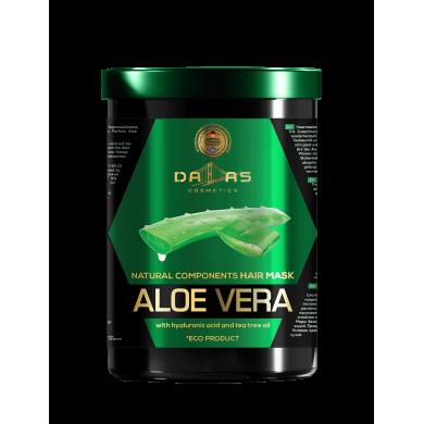 Маска для волосся з гіалуроновою кислотою, натур.соком алоє та маслом чайного дерева 1000мл DALLAS
