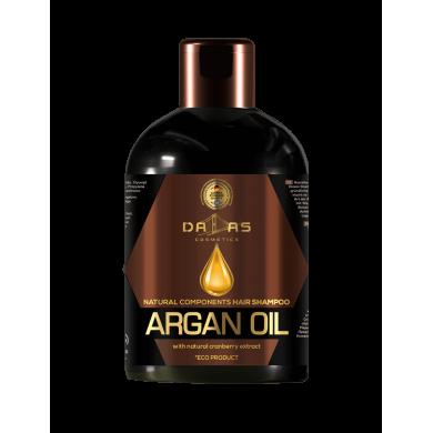 юШампунь для волосся з нат.екстр.журавлини та аргановою олією 500мл DALLAS