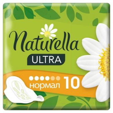 Прокл. жіночі гіг. NATURELLA Ultra Camomile Normal Single 10шт