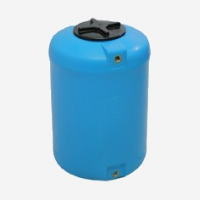Бак вертикальний 100 (блакитний колір) Ø480х650
