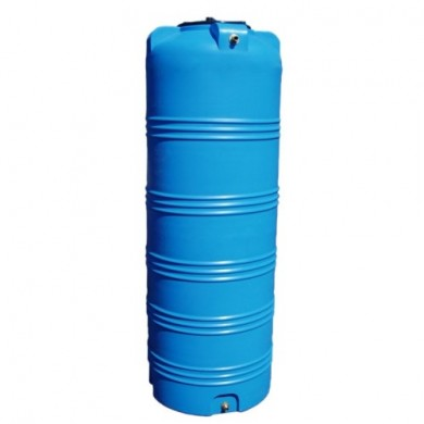 Бак вертикальний V 750 (блакитний колір)  Ø744х2100