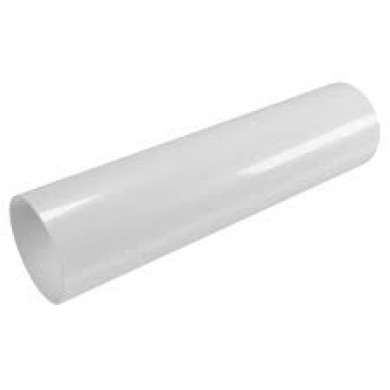 Білий Водостічна труба 100/4м