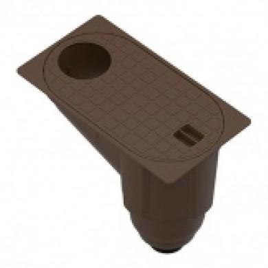Бокс водостічний PolyMax Basic ДП-30, 16-ПП пластиковий з вертикальн Standartpark817009-Ч