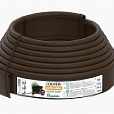 Бордюр Кантрі Б-1000.2.11 пластиковий коричневий Standartpark 82401-К