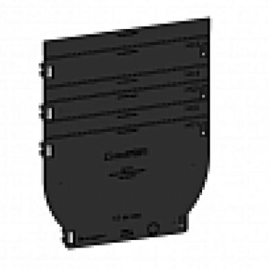 Заглушка пластикова ЗЛВ-10.16.16-ПП до лотка водовідвідного пластико Standartpark 6830