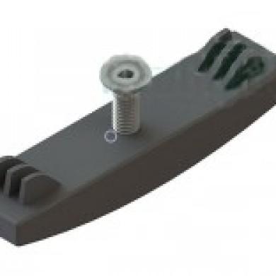 Л Кріплення пластикове до лотка водовідвідного ЛВ-10-ПП з гвинтом 35мм Standartpark 6800-35