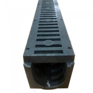 Лоток комплект 1м полімер-піщаний a14/b10/h15