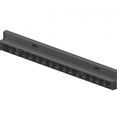 Лоток водовідвідний PolyMax Basic ЛВ-10.15.06-ПП пластиковий Standartpark 8050