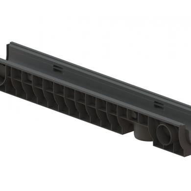 Лоток водовідвідний PolyMax Basic ЛВ-10.16.12-ПП пластиковий Standartpark 8020