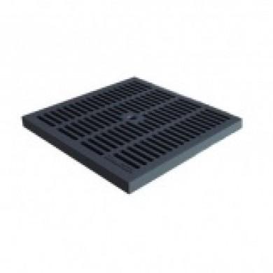 Решітка водоприймальна PolyMax Basic РВ-28.28-ПП пластикова чарунков Standartpark 3380-Ч