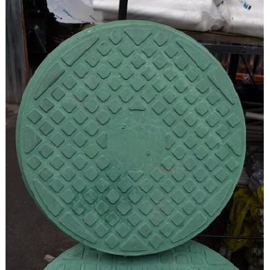 Люк каналізаційний 1,0 т. зелений ЮМОКС