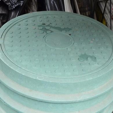 Люк каналізаційний 5 т. зелений ЮМОКС
