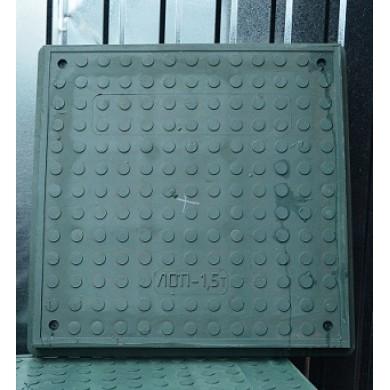 Люк композитний квадратний 1,5 зелений ЮМОКС
