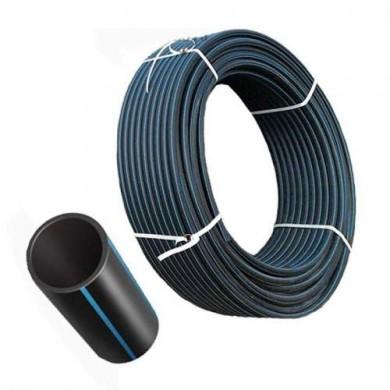 Труба  ПНД 50 - 3,7 мм 10 атм чорна
