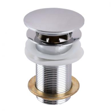Клапан донний HG15-03А- Click-clack Круглий, З переливом