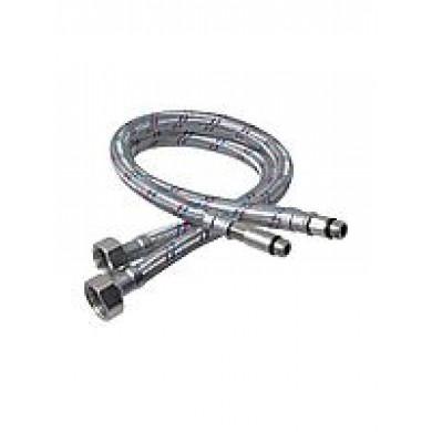 """Шланг для змішувача 100 см M10х1/2"""" (пара, алюмінієвий)"""