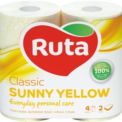 Т.папір Ruta Classic жовтий 4шт