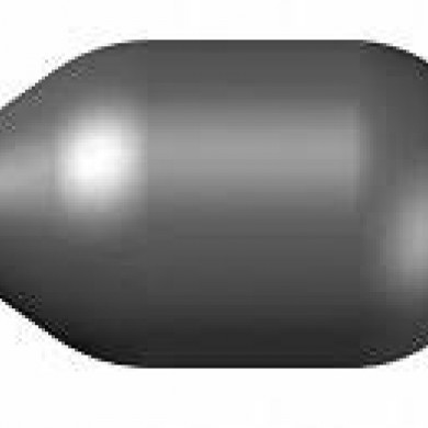 Груша (мембрана) для бачка 24 літрів чорна ЕА ІТАЛІЯ