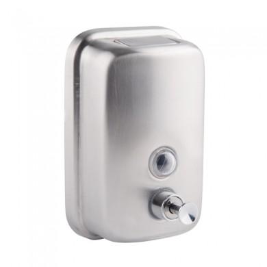 Ак Дозатор настінний для рідкого мила 500мл WAL-SEI4-F5 (хром)