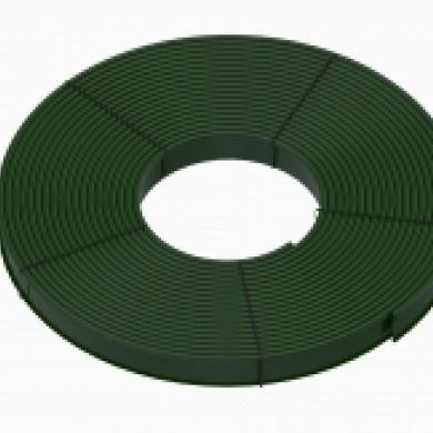 Бордюр Кантрі Б-8000.2.11 пластиковий зелений Standartpark 82401/80-3