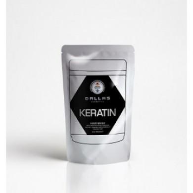 Маска-крем для волосся з кератином і екстрак.молоч.протеїну,70мл DALLAS KERATIN PROFES-L (DOYPACK)