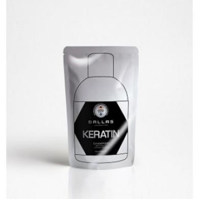 Шампунь з кератином і молочним протеїном, 70г DALLAS KERATIN( DOYPACK)