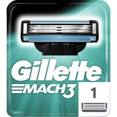 Змінні касети GILLETTE MACH3 для гоління 1шт