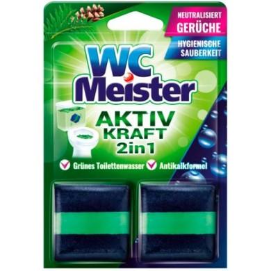 Засіб WC MEISTER FOREST гел. д/мит. туалетів (кількафаз. брусок до зливного баку) (1 шт)